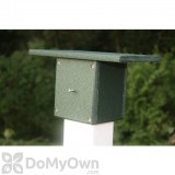Songbird Essentials Post Mount For Bird Houses or Bird Feeders (SERUBPM)