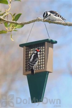 Songbird Essentials Suet Bird Feeder with Tail Prop (SERUBSF100H)