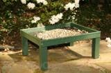 Songbird Essentials Green Ground Platform Bird Feeder (SERUBSPF100)