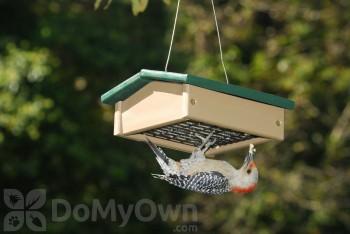 Songbird Essentials Small Hunter Driftwood Upside Down Suet Bird Feeder (SERUBSUDF100HD)