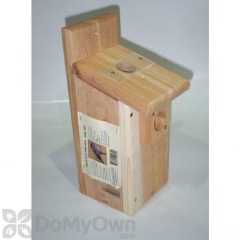 Songbird Essentials Viewing Top Bluebird Box Bird House (SESC1007C)