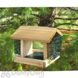Songbird Essentials Plantation with 2 Suet Baskets Bird Feeder (SESC2003C)