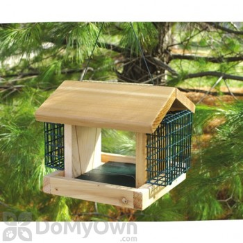 Songbird Essentials Plantation with 2 Suet Baskets Bird Feeder (SESC2003C)