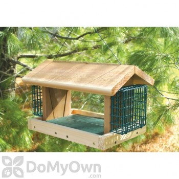 Songbird Essentials Large Plantation with 2 Suet Baskets Bird Feeder (SESC2004C)
