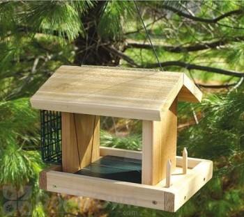 Songbird Essentials Seed, Suet and Fruit Bird Feeder (SESC6005C)