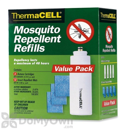 Thermacell Mosquito Repellent Refill Value Pack 48 Hrs R 4