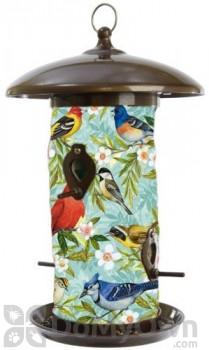 Toland Home and Garden Bird Collage Bird Feeder 3 lb. (202042)