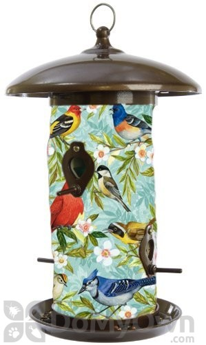 Toland Home And Garden Bird Collage Bird Feeder 3 Lb 202042