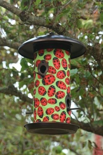 Toland Home And Garden Lady Bugs Bird Feeder 3 Lb 202046