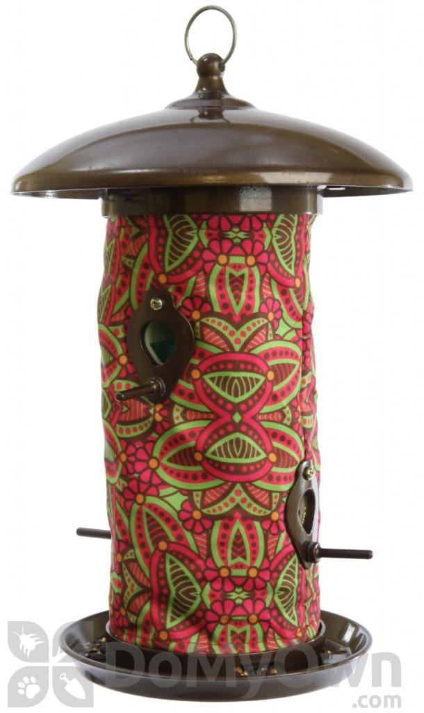Toland Home And Garden Fuchsia Bird Feeder 14 5 In 241339