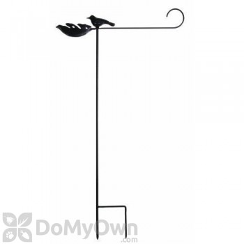 Toland Home and Garden Flag Stand with Bird Feeder (430106)