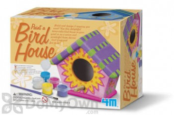 Toysmith Paint A Bird House Kit (3743)