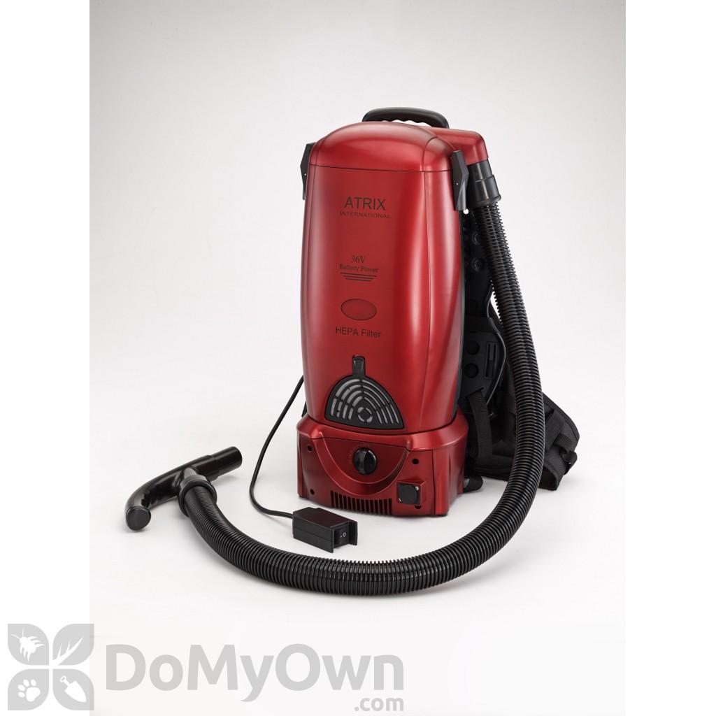 atrix battery backpack vacuum vacbp36v - Backpack Vacuum