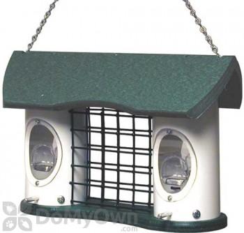 Vari Crafts Triple Treat Recycled Plastic Bird Feeder 1.5 qt. (VCRTT3)