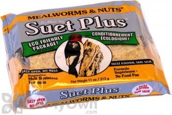 Wildlife Sciences Mealworms and Nuts Suet Cake 11 oz. (212)
