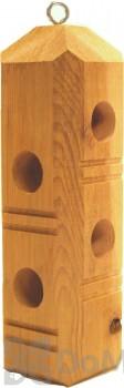 Wildlife Sciences Cedar Suet Plug Feeder (777C)