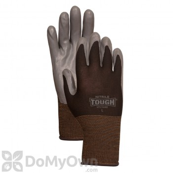 LFS Bellingham Nitrile Tough Gloves - Black