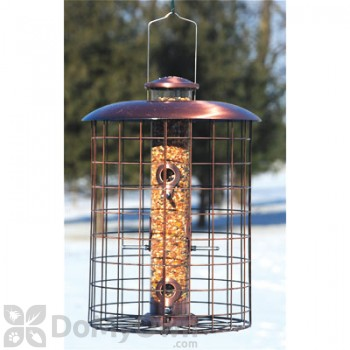 Woodlink Coppertop Cages 6-Port Seed Bird Feeder 1.25 lbs. (WLCOPCAGE6S)