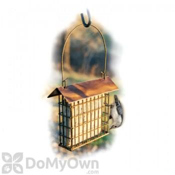 Woodlink Copper Top Single Suet Cage Bird Feeder (COPSUET)