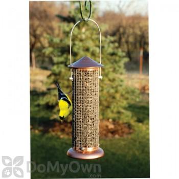 Woodlink Copper Top Sunflower Mini Tube Bird Feeder (COPSUNMINI)