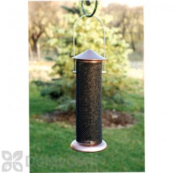 Woodlink Copper Top Thistle Mini Tube Bird Feeder (COPTMINI)