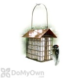 Woodlink Coppertop Double Suet Cage Bird Feeder (DCOPSUET)