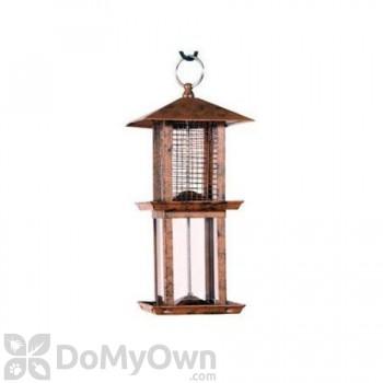 Woodlink Audubon Double Tower Metal Seed Bird Feeder 1.25 lbs. (NA11251)
