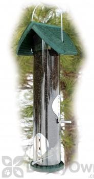Woodlink Audubon Going Green Clear Nyjer Thistle Tube Bird Feeder 2 lb. (NAGGTUBE3)