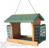 Woodlink Audubon Going Green Ranch Feeder with Suet 5 lb. (NAGOGREEN2)