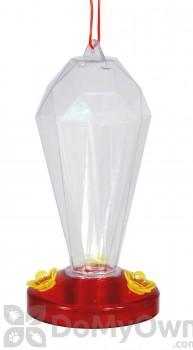 Woodlink Audubon Crystal Tower Plastic Hummingbird Feeder 24 oz (NAH10)