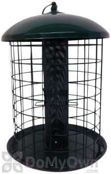 Woodlink Audubon Caged Squirrel - Resistant Mesh Screen Bird Feeder 2 lbs. (NATUBE17)