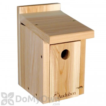 Woodlink Audubon Cedar Wren / Chickadee Bird House (NAWRCH)