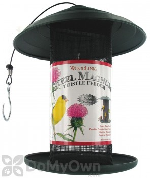 Woodlink Green Steel Magnum Thistle Bird Feeder 5 lbs (STMAG4GRT)