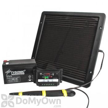 Bird Barrier Eagle Eye Solar Panel Kit with Bracket (ee-07)