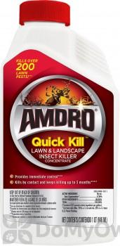Amdro Quick Kill Lawn & Landscape Insect Killer Concentrate
