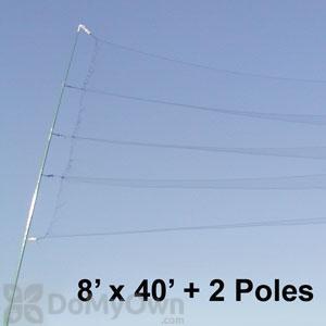 Bird Barrier Mist Net Kit 2 (n8-mnk2)