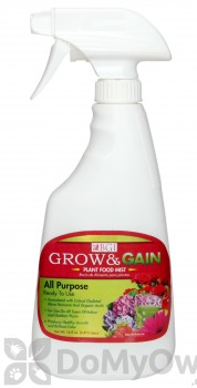 Grow and Gain Plant Food Mist