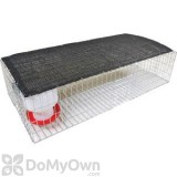 Bird Barrier Knock Down Pigeon Trap with Shade (tt-sw05)