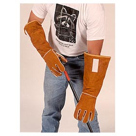 Tomahawk 18-inch Kevlar Animal Handling Gloves - Model KKAHG