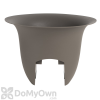 Bloem Modica Rail Planter 18 in. Peppercorn