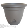 Bloem Lucca Planter 8 in. Peppercorn
