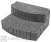 Stora Step Storage & Step - Light Granite