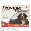 Frontline Plus Tick and Flea Treatment for Extra Large Dogs (89 - 132 lbs)