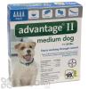 Advantage II Flea and Lice Treatment for Medium Dogs 11 - 20 lbs.