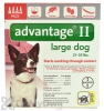Advantage II Flea and Lice Treatment for Large Dogs 21 - 55 lbs.