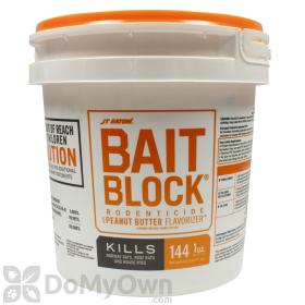 JT Eaton Bait Block Rodenticide with Peanut Butter Flavorizer (#709-PN)