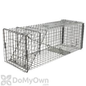 Tomahawk Deluxe Cat/Rabbit Animal Trap Rear Sliding Door - Model 606