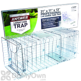 JT Eaton Answer Cage Trap for Raccoons, Groundhogs, & Larger Animals (485N)