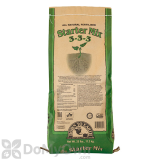 Down To Earth All Natural Fertilizer Starter Mix 3 - 3 - 3  25 lb.