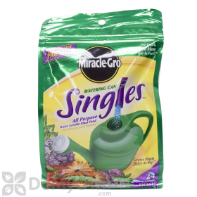 Miracle-Gro Watering Can Singles Fertilizer